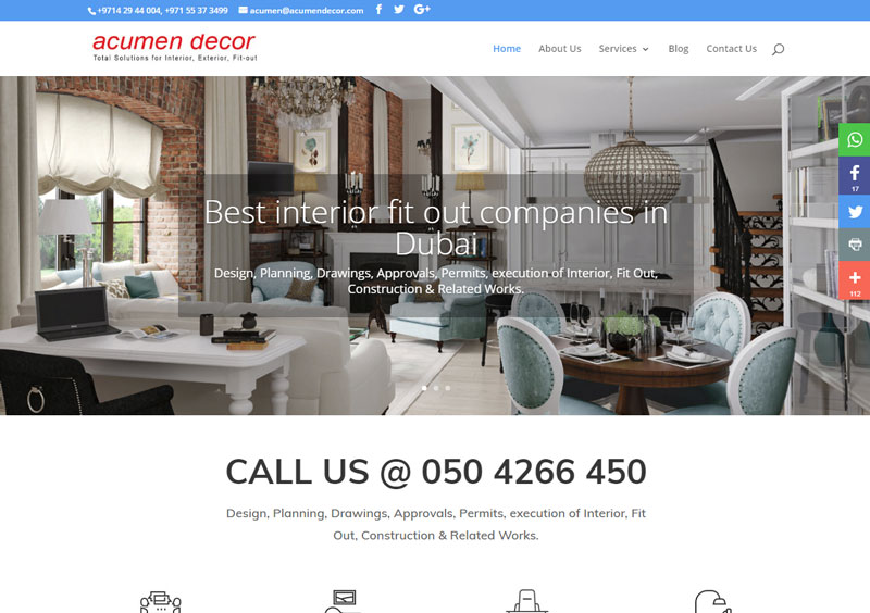 Acumen Decor Is One Of The Leading Commercial Fitout Companies In Dubai,  With A Customer Base That Ranges From Large Corporations To Startups All  Across The ...